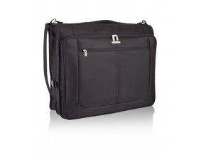 Travelite Mobile Garment Bag Classic Black  + Pouzdro zdarma