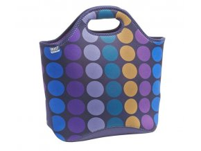 Built Market Tote Plum Dot