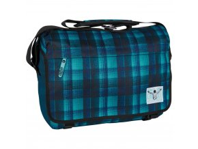 Chiemsee Shoulderbag large Checky chan blue
