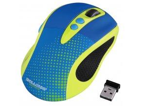 Hama optická bezdrátová myš Knallbunt 2.0, žlutá