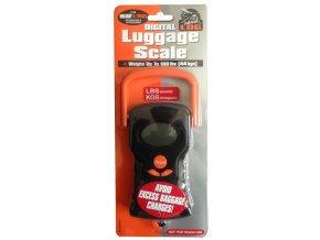 Váha na zavazadla REAbags 078/363 černá/oranžová