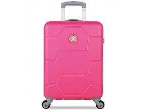 Kabinové zavazadlo SUITSUIT® TR-1227/3-S ABS Caretta Shocking Pink  + Pouzdro zdarma