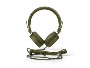 FRESH ´N REBEL Caps sluchátka, vojenská zelená