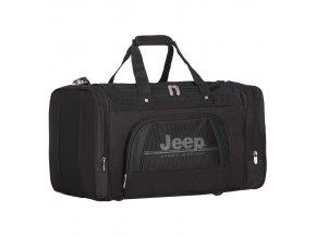 Cestovní taška JEEP 762 Deluxe - černá