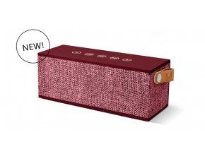 FRESH ´N REBEL Rockbox Brick Fabriq Edition Bluetooth reproduktor, Ruby, rubínově červený