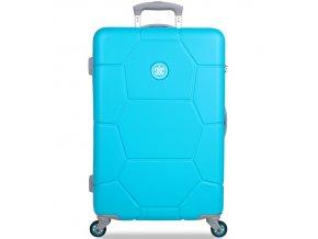 Cestovní kufr SUITSUIT® TR-1244/3-M ABS Caretta Ocean Blue  + PowerBanka nebo pouzdro zdarma