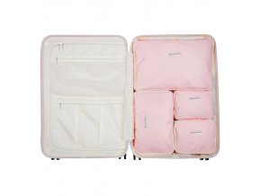 Sada obalů SUITSUIT® Perfect Packing system vel. L Pink Dust  + Pouzdro zdarma