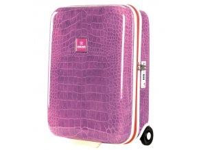 Kabinové zavazadlo SUITSUIT® TR-1133/2-50 - Purple Crocodile  + PowerBanka nebo pouzdro zdarma
